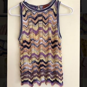 Knit vest and matching skirt